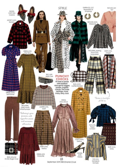AW19's ROSE TOP FEATURES IN THE SEPTEMBER ISSUE OF RED MAGAZINE