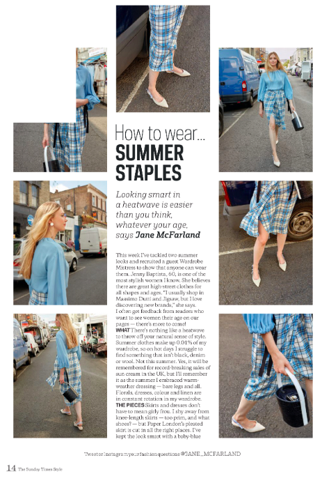 ST STYLE FEATURES THE SIREN SKIRT IN DREAMCATCHER CHECK
