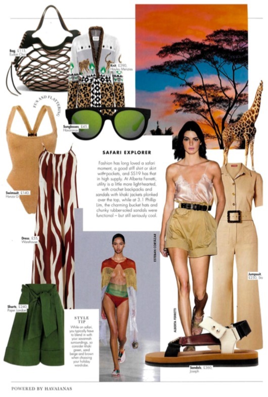 PAPER FEATURES IN THE SUMMER ISSUE OF HELLO! FASHION MONTHLY