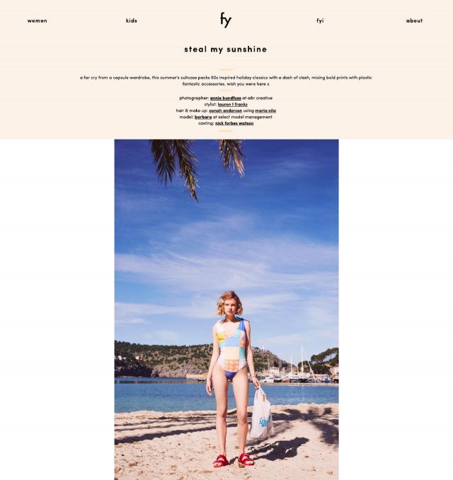 FOREVER YOUNG FEATURES THE ARUBA SWIMSUIT