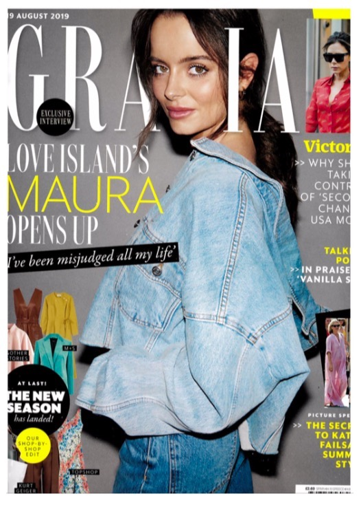 GRAZIA MAGAZINE FEATURES THE CHA CHA PATCHWORK BIKINI