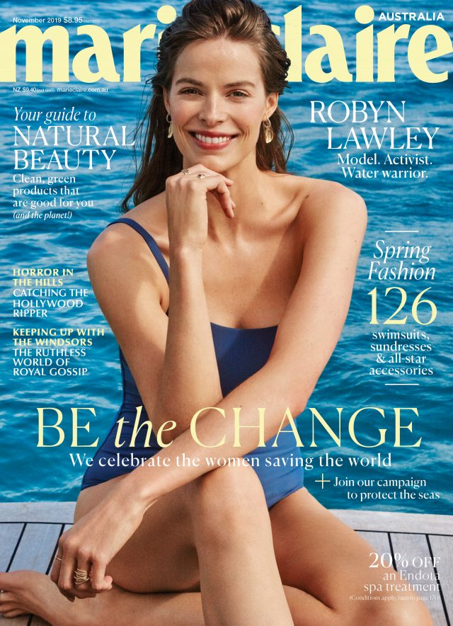 MARIE CLAIRE FEATURES THE RESORT 20 IRIS BIKINI AND BANDEAU BIKINI