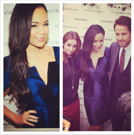 DJ Sarah- Jane Crawford wears SS14s Cloud Dress..