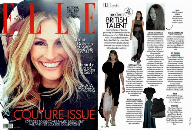 Creative Director KELLY TOWNSEND is interviewed for ELLE Magazine