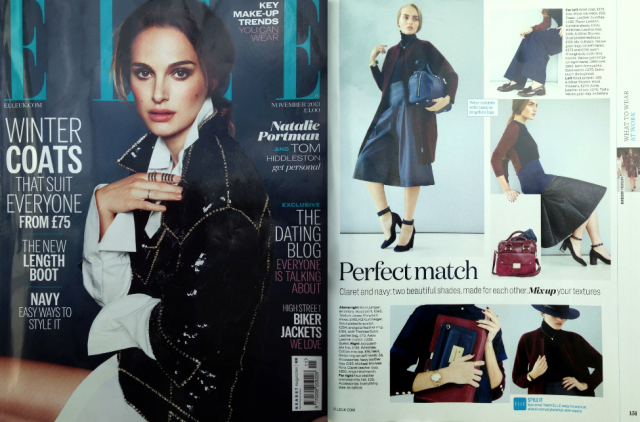 Leather Adamello Culottes feature in ELLE