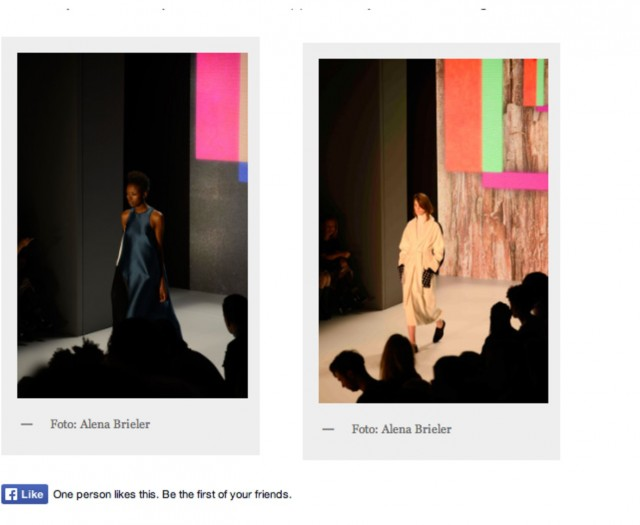 PAPER London's AW15 Catwalk Show is featured in Fashion Blogs World