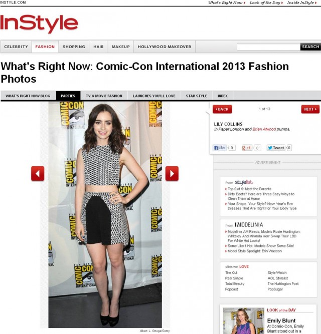 PAPER London feature on InStyle.com