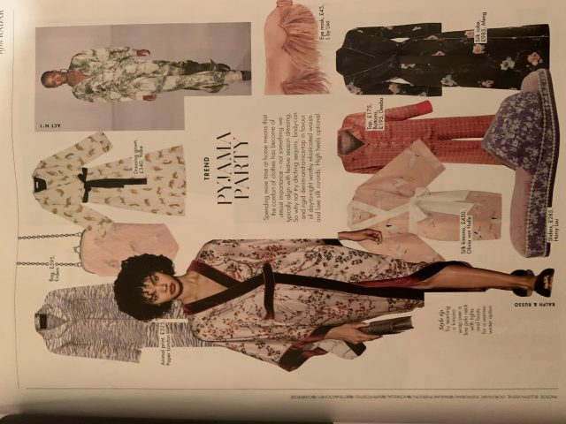 PAPER Florence Pyjamas in Abracazebra featured in HELLO FASHION MONTHLY