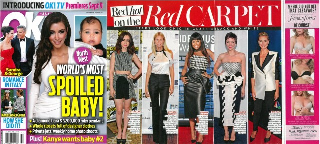 PAPER London on Lily Collins featured by OK Magazine USA