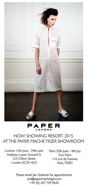 PAPER London shows Resort for the first time