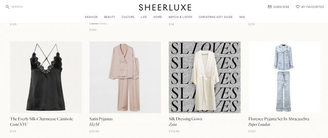 PAPER featured in SHEERLUXE – Christmas Gift Guide 2020: For Her