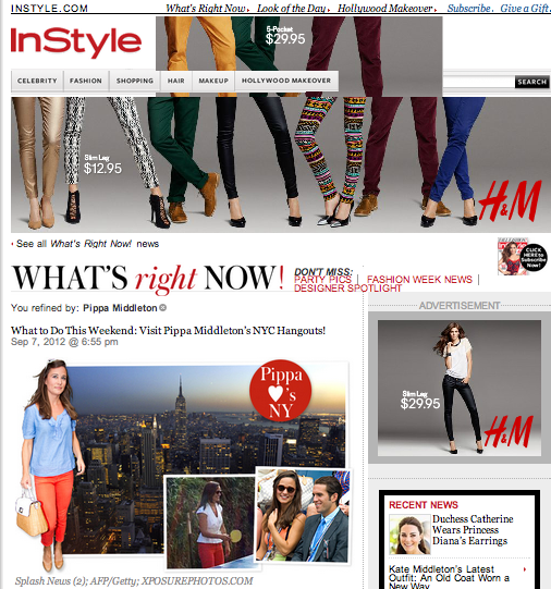 PAPER and Pippa Middleton on Instyle.com