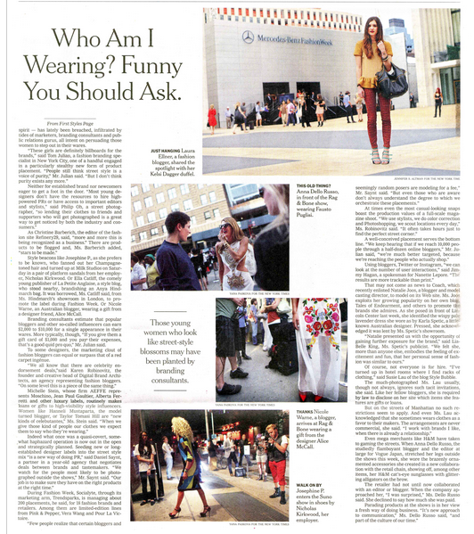 Jojo from Nicholas Kirkwood gets papped in PAPER London at #NYFW