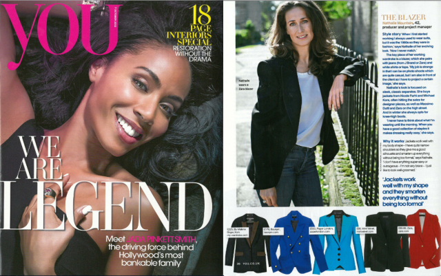 AW12 Moka Jacket is featured in this weeks YOU magazine