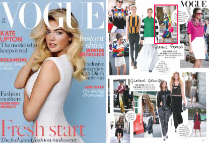 Spotted in Vogue PAPER London Riley Dress