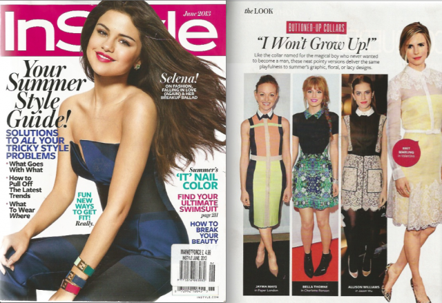 PAPER London features in InStyle USA