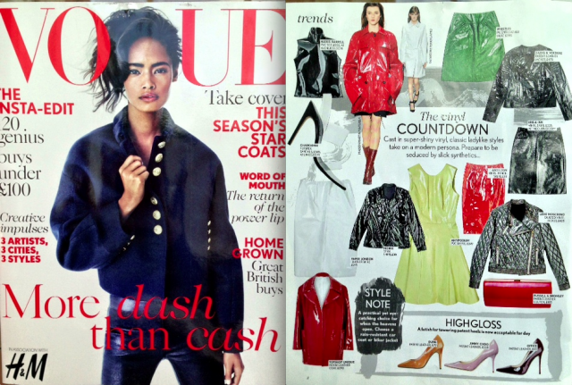 AW13 Cervinia Skirt features in Vogue