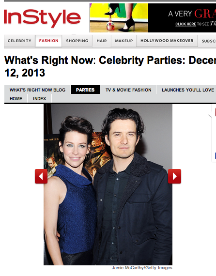 PAPER London and Evangeline Lilly feature on InStyle.com
