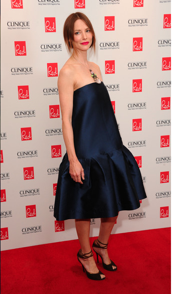 Actress Sienna Guillory wears PAPER London to the Red Magazine Women of the Year Awards