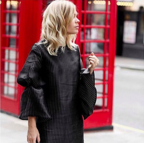 @wethepeoplestyle wearing PAPER London AW16 Dawn Dress