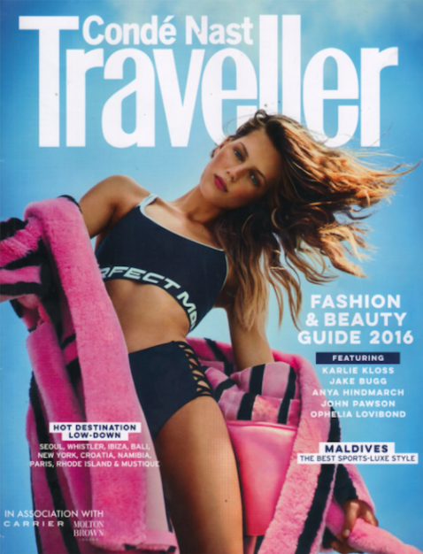 PAPER London R17 Atlantis Bikini is featured in Conde Nast Traveller