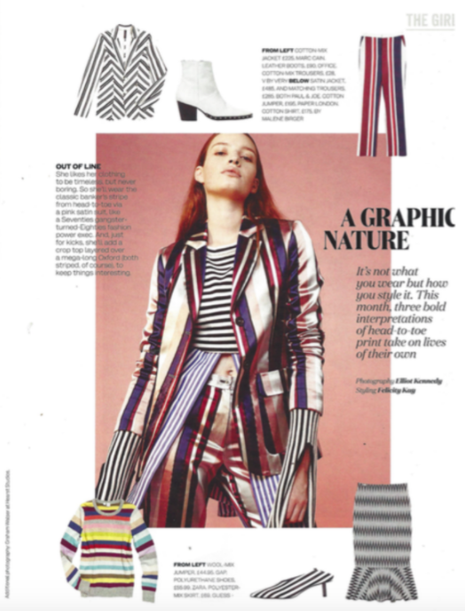 PAPER London Resort 17 Gill Jumper is featured in ELLE UK