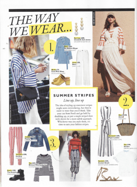 PAPER London's SS17 Vivienne Jumpsuit is featured in Grazia