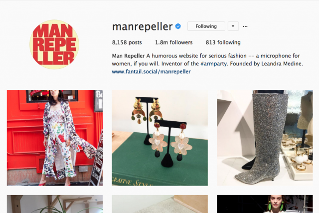 Stacy London wears SS17 Kelly Trousers for the 'Man Repeller makeover'