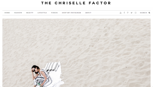 SS17 Vivienne Jumpsuit is being featured on THE CHRISELLE FACTOR