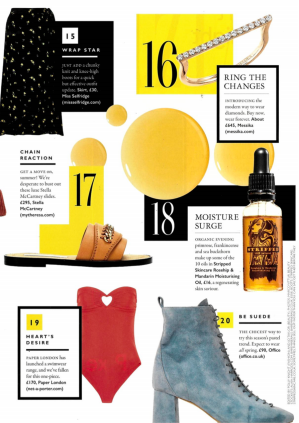 RESORT 18 FLORENTINE SWIMSUIT FEATURES IN GRAZIA's HOTLIST