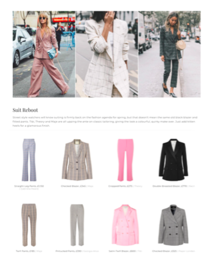 PAPER London's Leni Jacket is featured by SheerLuxe online