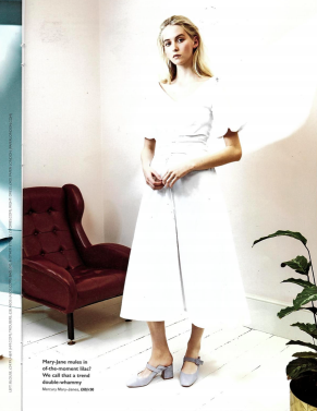 GRAZIA MAGAZINE features SS18's SISI DRESS