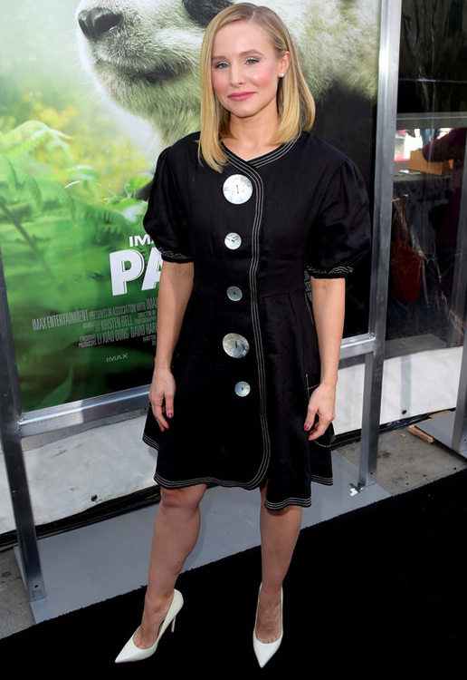 KRISTEN BELL wears SS18s ANITA DRESS to the PANDAS Premier in Los Angeles