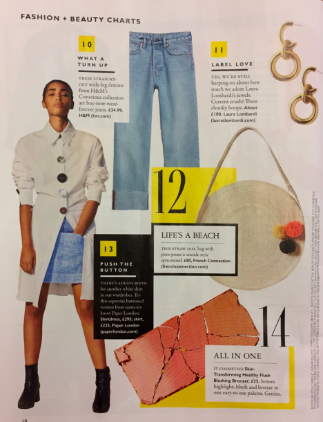 SS18s AROA DRESS is featured in GRAZIA MAGAZINE