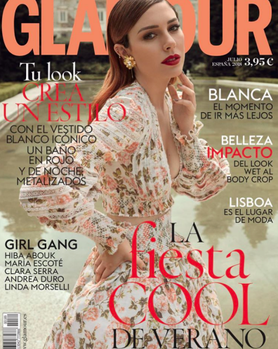 R18s FLORENTINE SWIMSUIT is featured in GLAMOUR SPAIN