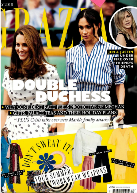 PREFALL'S DUTCH DRESS IS FEATURED IN GRAZIA MAGAZINE