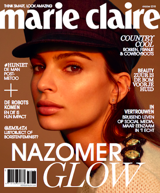 MARIE CLAIRE NETHERLANDS FEATURES AW18s MARRAKESH DRESS