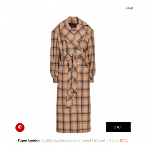 THE CLOTILDE COAT FEATURES IN WHO WHAT WEAR'S WINTER COAT EDIT
