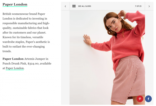 REFINERY29 FEATURES PAPER IN THEIR SUSTAINABLE BRANDS EDIT