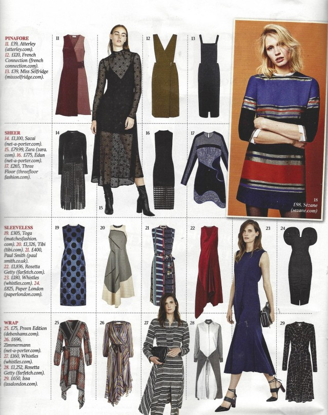 PAPER London's Dome Dress is featured in the Saturday Times Magazine