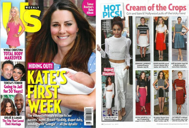 PAPER London in Us Weekly Magazine
