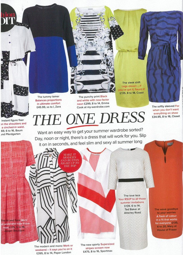 Setai dress is featured in Woman & Home