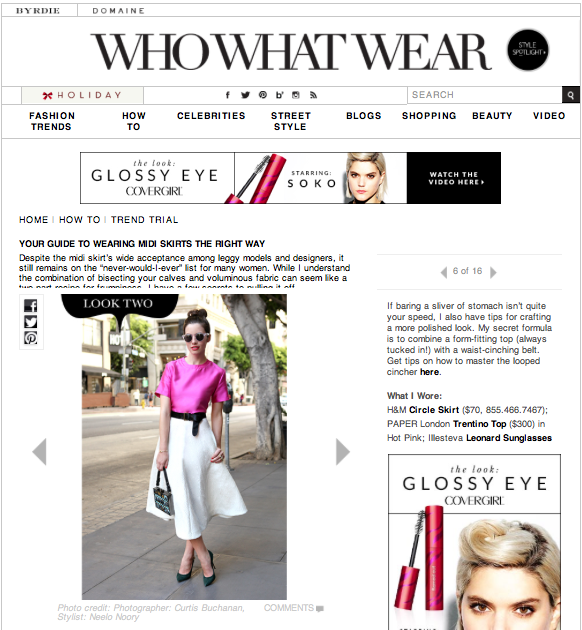 PAPER's Trentino Top as featured on WHOWHATWEAR
