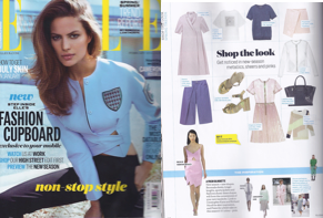 SS14's SUNSET JUMPER as featured in February's edition of ELLE Magazine