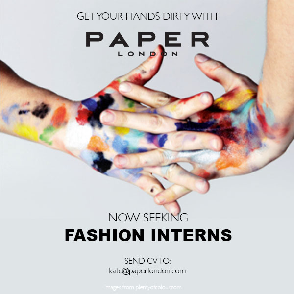 Interns wanted… apply now!