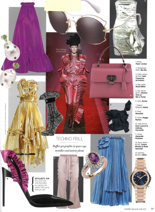 Bazaar Singapore featured R17 Luna Dress