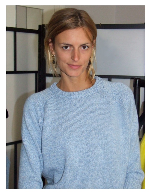 Jacquetta Wheeler looks stunning in the SS12 Gusman Jumper
