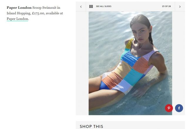REFINERY29 Features PAPER in its 28 Sustainable Swimsuits For Your Seaside Summer Staycation