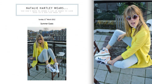 Natalie Hartley Wears Blog