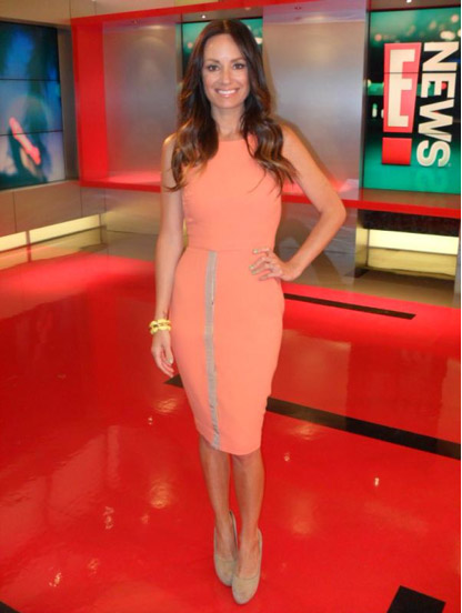 Catt Sadler wears SS12 South Beachdress